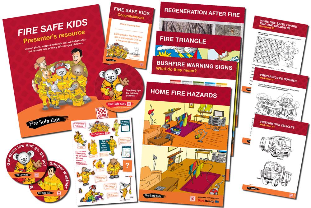 Edunity CFA Fire Safe Kids